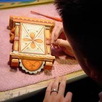 Painting process photo