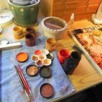 Using pigments