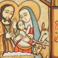 Nativity with Doors Open